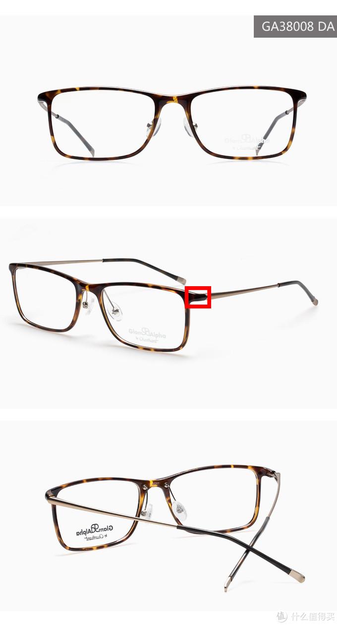 上一幅眼镜