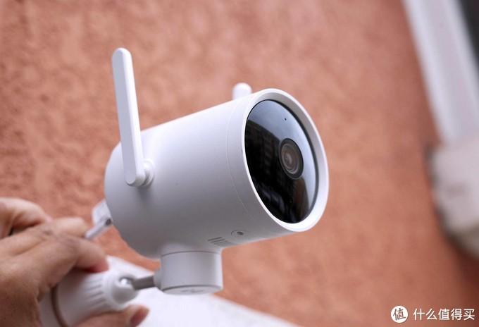创米小白智能摄像机,看家护院样样行