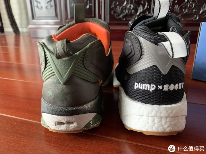 默默败家记—— PUMP FURY BOOST Reebok联名鞋