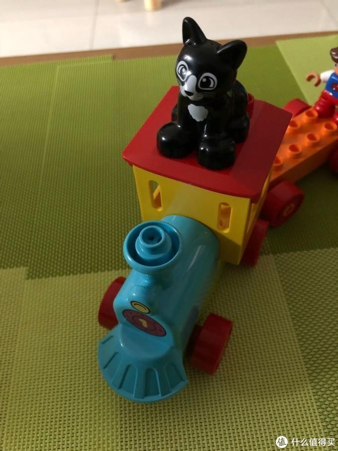 终于可以以宝宝的名义买玩具了(二),乐高得宝系列,小火车10847
