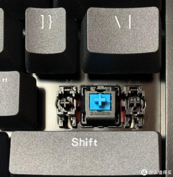 iKBC C87 机械键盘 青轴 开箱