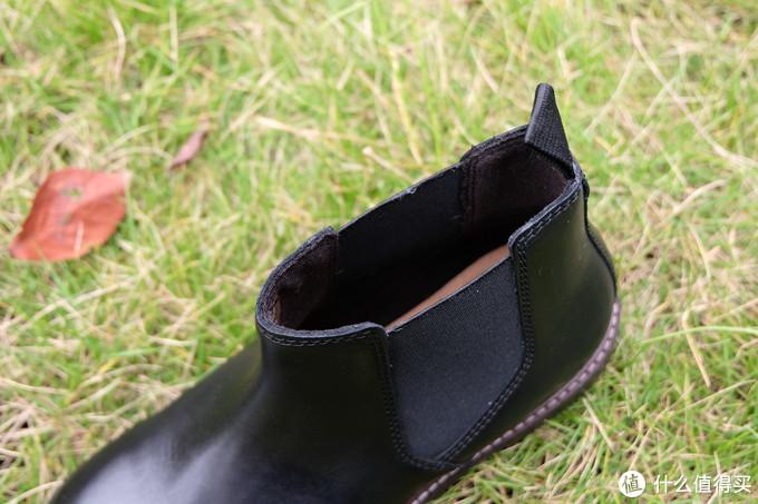 跟着大妈买,型男必备款,clarks其乐切尔西短靴