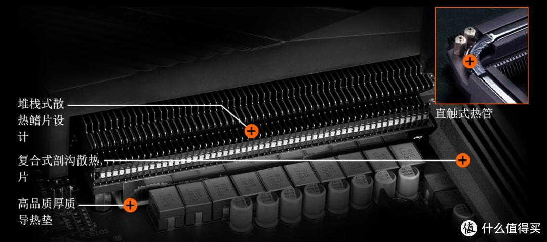 CPU供电芯片、Mosfet和电感在高负载下,需要更好的散热