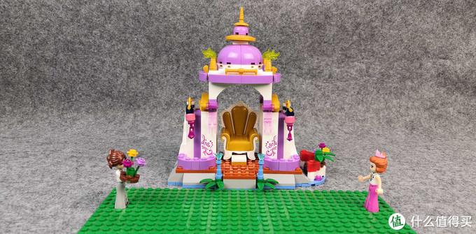 用积木玩女孩过家家,女皇的宫廷生活是怎样的?杰星积木之杰琳娜的小亭子体验