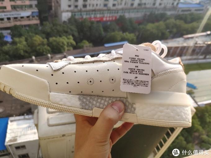 这双做工辣鸡的阿迪三叶草小白鞋有点好看FU6692