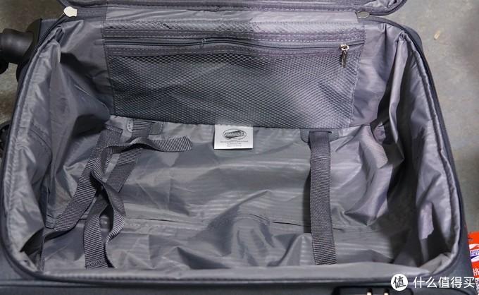 美旅拉杆箱软箱20英寸开箱晒单