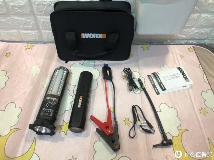 WX852 WX916威克士汽车电瓶应急12V多功能车载备用搭电充电宝 开箱试用