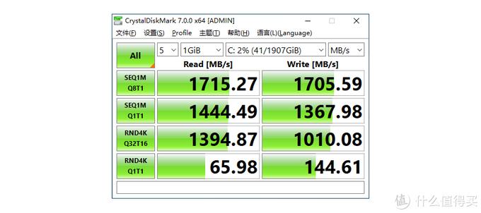 追赶极速:海康威视C2000 Pro 2T固态硬盘到手简评