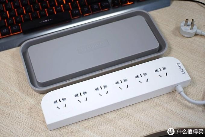 安全用电与桌面收纳兼得,奥睿科AC收纳盒排插轻体验