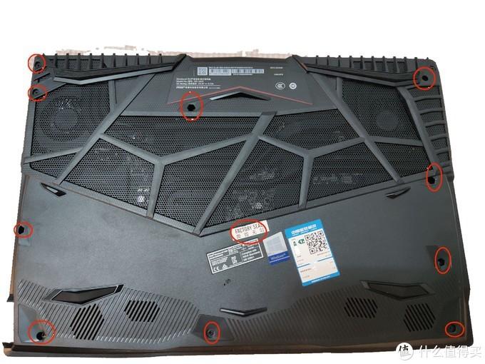 微星 冲锋坦克GL65 拆解