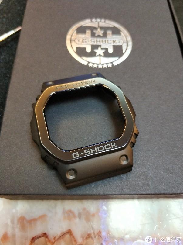 新人首晒,Gshock5600钛合金外壳
