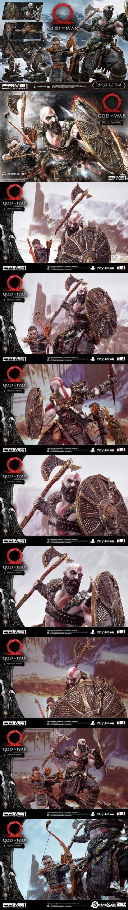 重返游戏:Prime 1 Studio《战神》奎托斯&阿特柔斯雕像开订