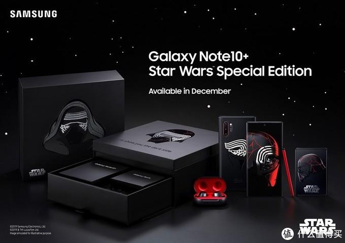 星战粉专属:SAMSUNG 三星 发布 Galaxy Note10+ 星球大战特别版, 炫酷设计诚意十足