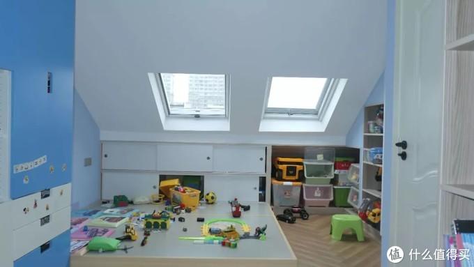 不规则小阁楼大改造,有娃家庭的全屋收纳方案!
