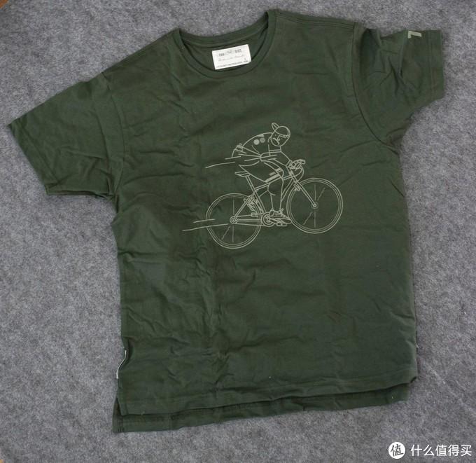 双十一捡便宜之700Bike 原创骑行T恤