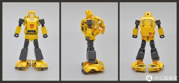 二次元走进三次元的优秀设计!抢先评测MP45大黄蜂(2.0版)