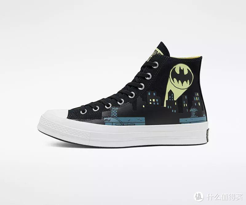 Converse x 蝙蝠侠系列推出重磅联名,再现打斗名场面