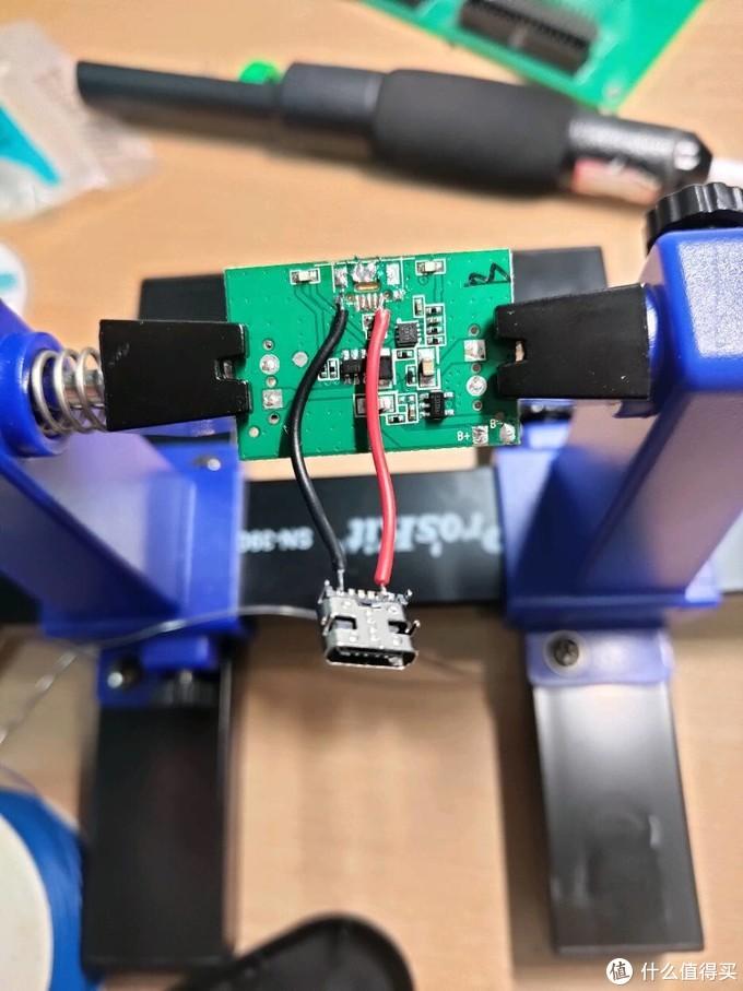 记一次QCY T1充电接口由microUSB改为type-C