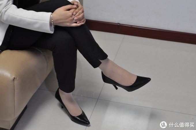 Calvin Klein Dolly kidskin 高跟鞋-通勤必备