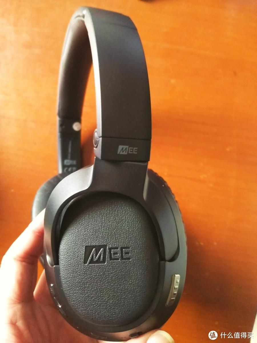 MEE audio AF68头戴式蓝牙主动降噪音乐耳罩式耳机轻晒单
