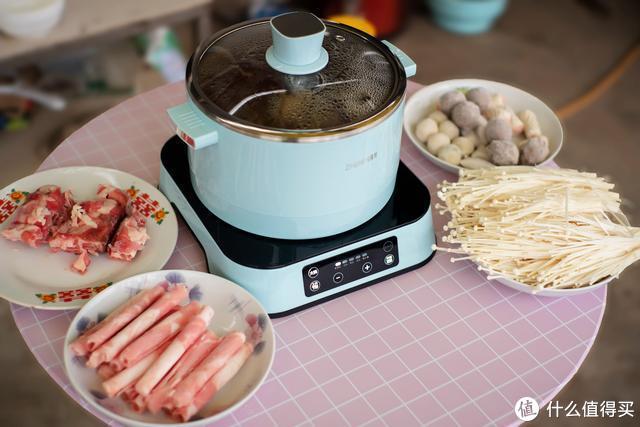家用电火锅,一款多功能的臻米智能升降电火锅