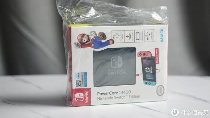 SWITCH定制版移动电源:安克PowerCore13400 ,为心爱的SWITCH续命~!