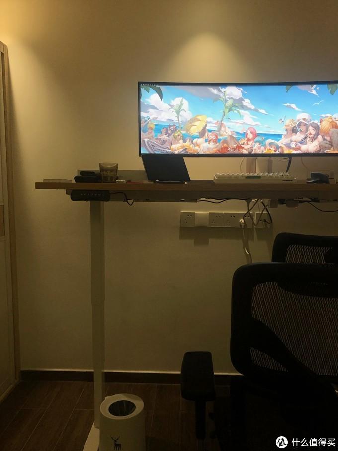 程序员的非标准书房:LG 32:9 显示器+乐歌E4升降桌+享耀家F3A工学椅