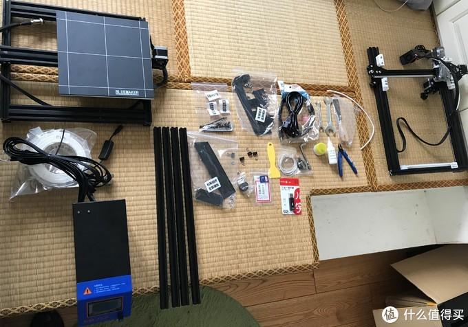 """3D打印-初接触&开箱""""蓝模BM10-25""""3D打印机"""