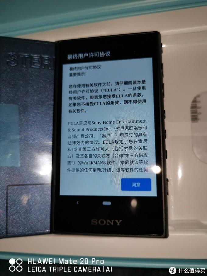 索尼NW-A100TPS/M入手
