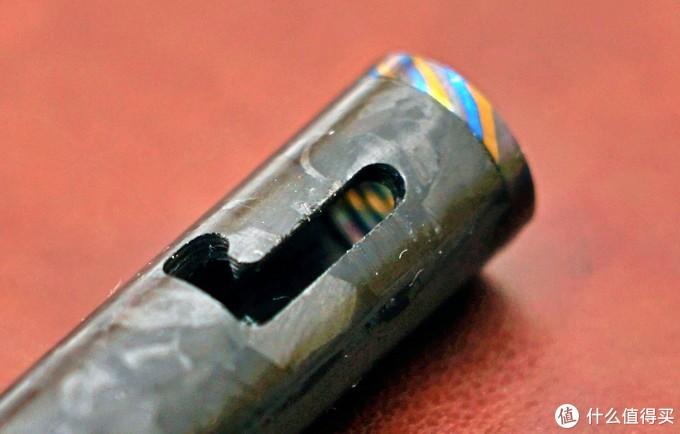 兰博基尼的工艺?锆马+锻造碳纤维,MAXACE 枪栓笔评测