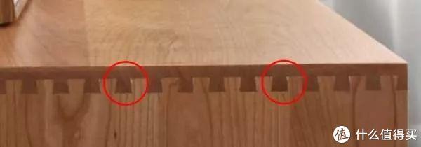 胶印和修补痕迹(樱桃木),图片来自网络