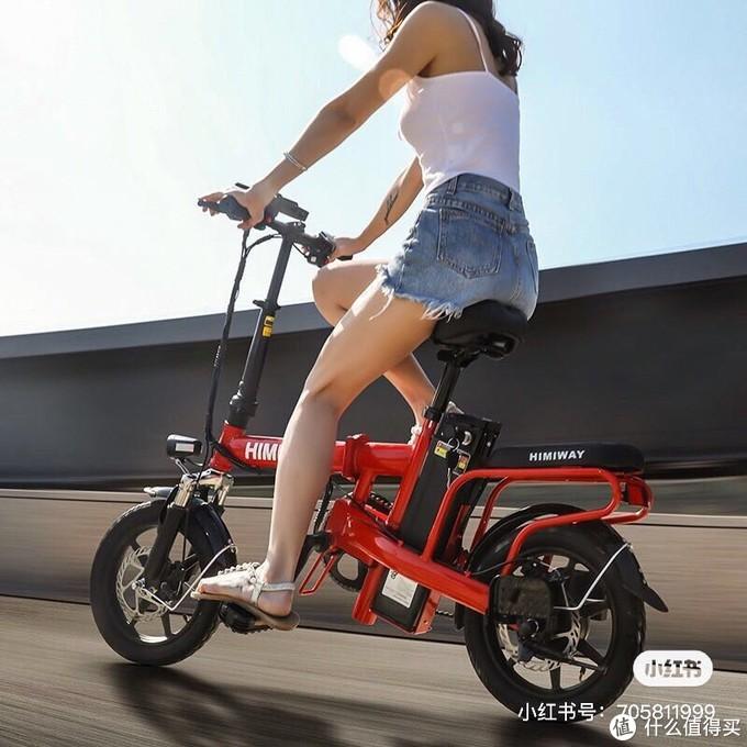 可折叠电动自行车,运动与出行两不误!