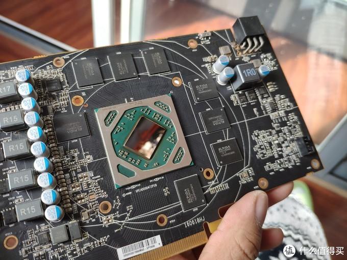 显存颗粒、GPU整体表现蛮好,5相供电马马虎虎了
