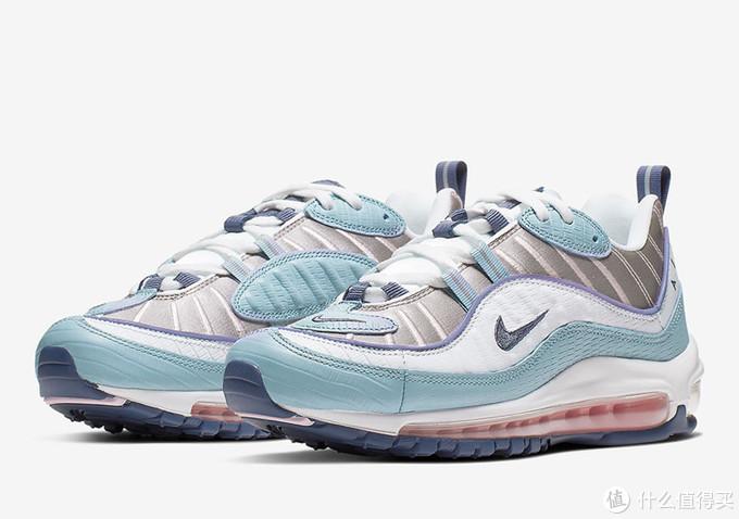 金属光泽 + 木质纹理!Nike Air Max 98