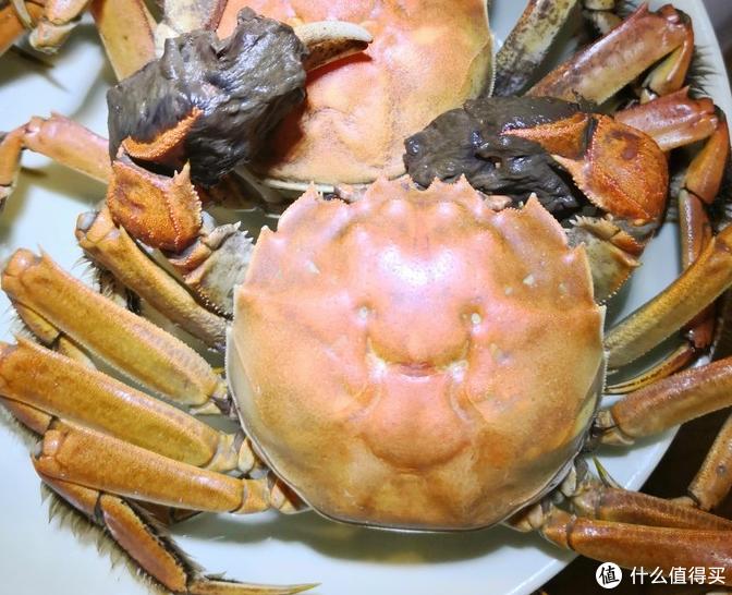 公螃蟹的话有膏。
