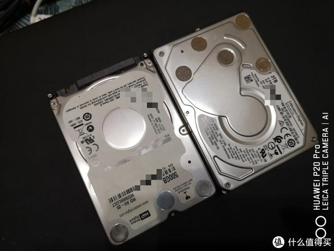 新旧硬盘对比