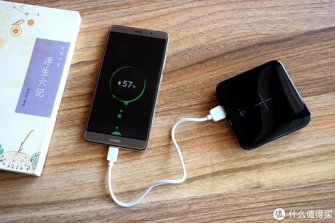 南卡迷你充电宝,有线无线充电一起嗨