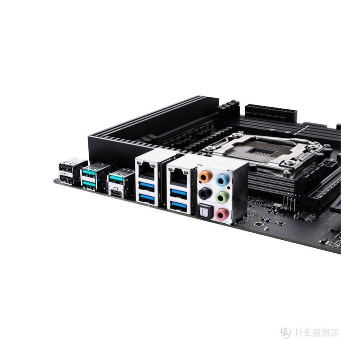 4通道内存双千兆LAN:ASUS 华硕 发布 Pro WS C422 ACE 工作站主板