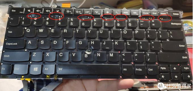 笔记本键盘修复记——ThinkPad 笔记本键盘修复