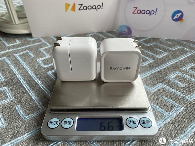 苹果12W充电器