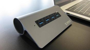ORICO Type-C铝合金扩展坞评测体验(接口|连接)