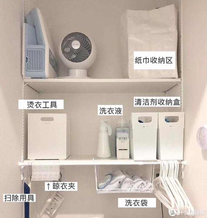 日本主妇几招教会你神级洗衣区收纳术