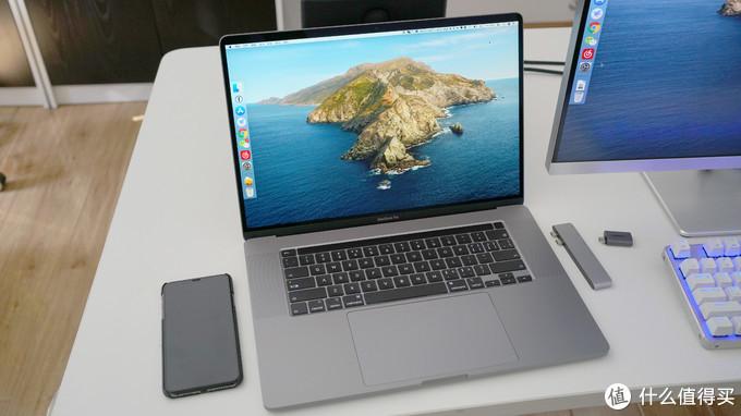 同时买的USB扩展坞+DP转接头
