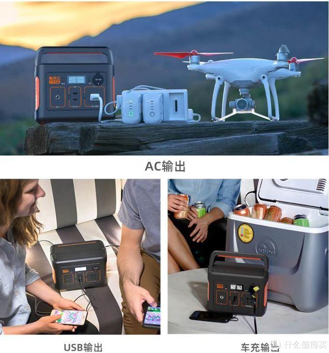 支持220V、车充扩展输出,电小二推出户外电源255移动电量储能站