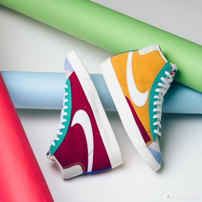 Nike blazer鸳鸯+拼接!