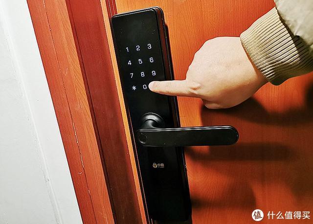 黑科技让生活更智能,小益指纹锁E206T让家居安全更有保障