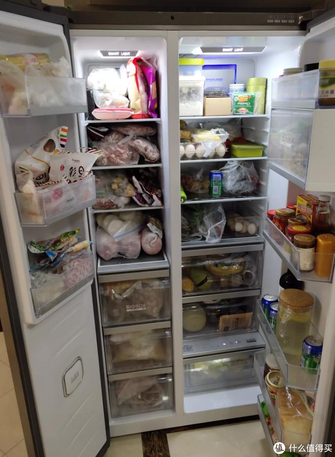 一个价值1W元的小冲动——卡萨帝双门冰箱晒单