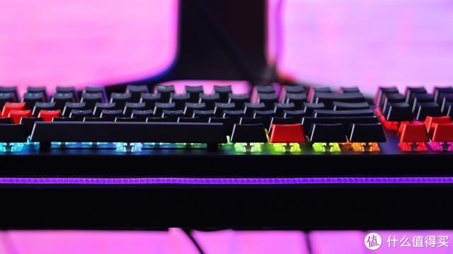 威刚 XPG SUMMONER 召唤者 RGB 游戏键盘图赏 灯厂上线