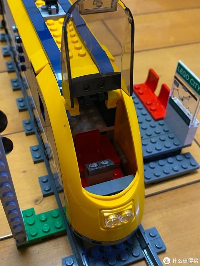 呜呜~欢迎搭乘Lego城际列车--60197拼装及彩蛋分享