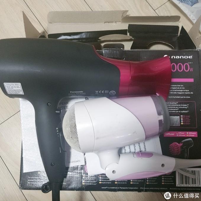 黑五海淘松下 EH-NA65-K吹风机晒单